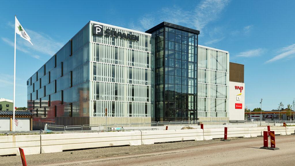 Stuvaren – Parkeringshuset i Sundsvall