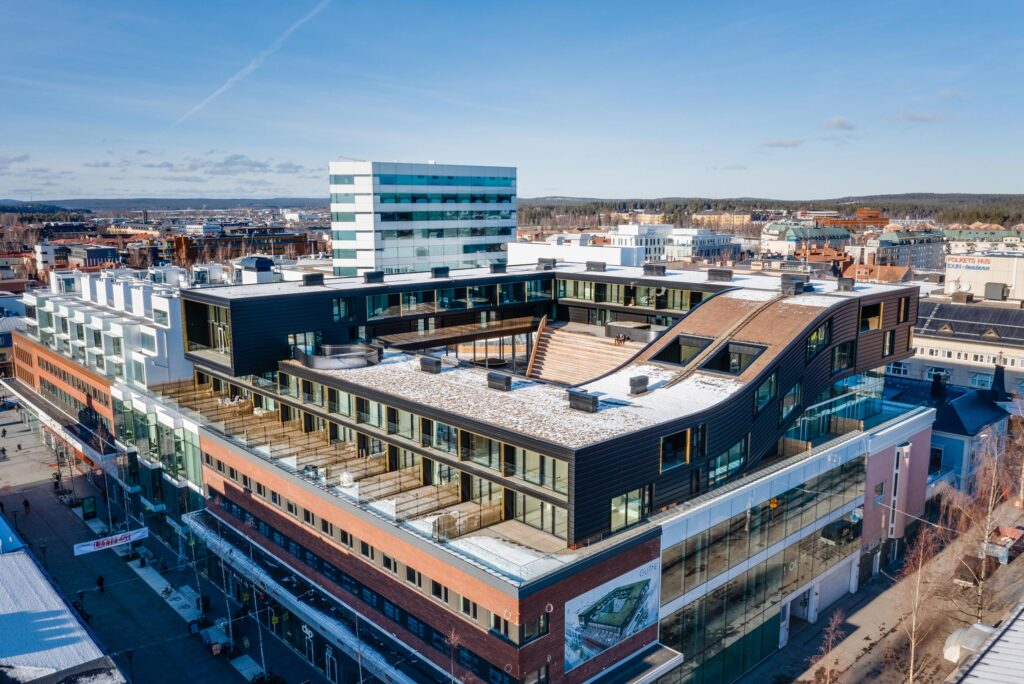 Glittne byggs i Umeå